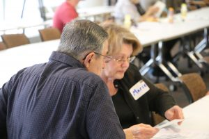 Milton Hershey School hosted a Grandparents Lunch and Learn event. A group of 67 people, including grandparents, family members, and grandchildren of all ages, attended the event.