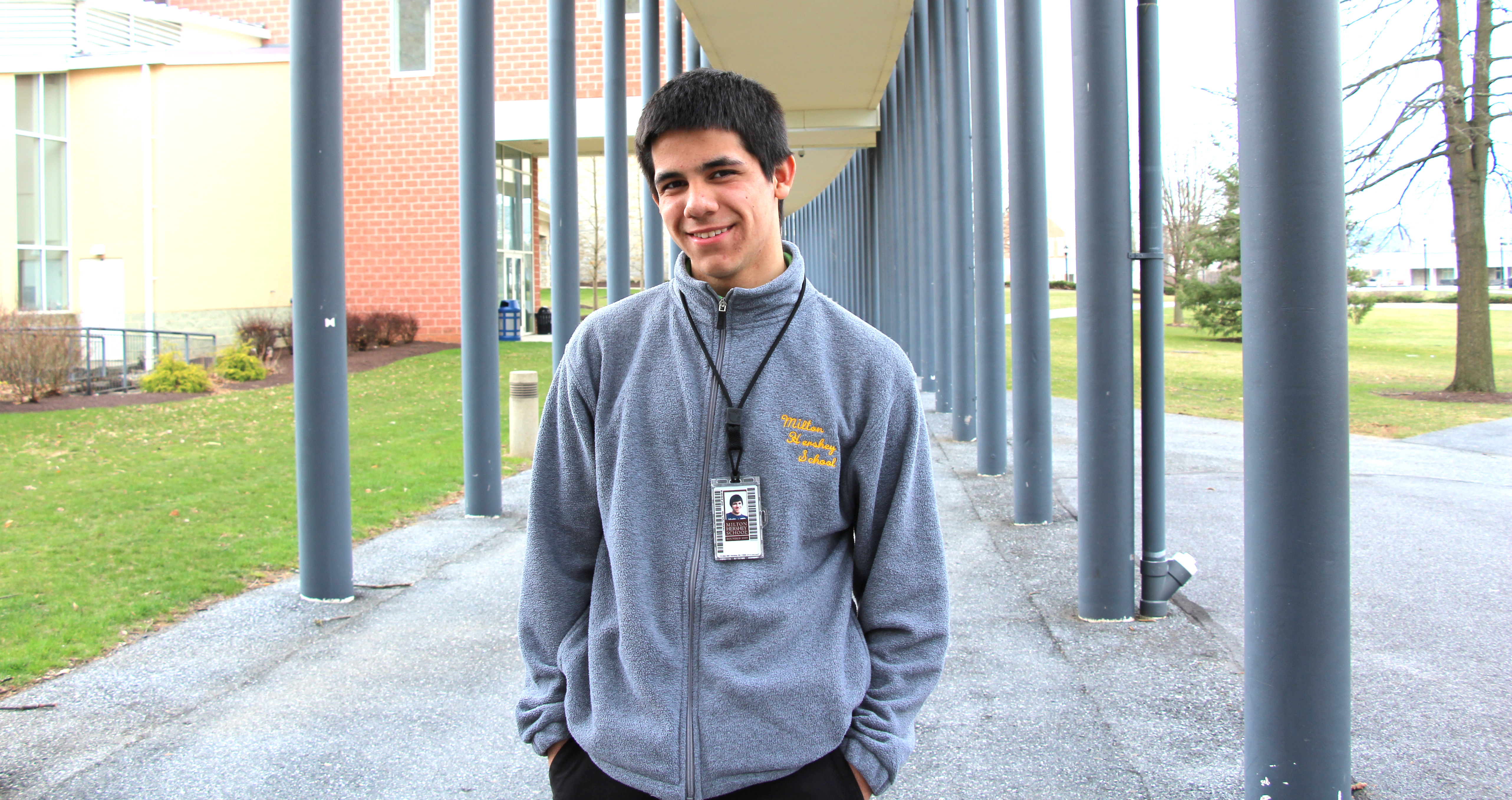 Originally from Middletown, Pennsylvania, Jose remembers feeling a startling lack of hope before enrolling at Milton Hershey School. Health and wellness helped change his mindset.