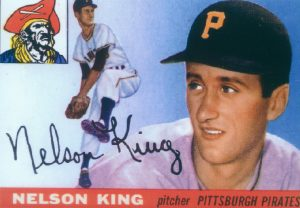 Nellie King '45, a professional baseball player