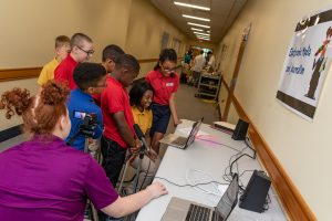 MHS elementary students learn about journalism