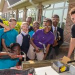 MHS elementary students learn about construction and carpentry