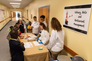 MHS elementary students learn about culinary arts