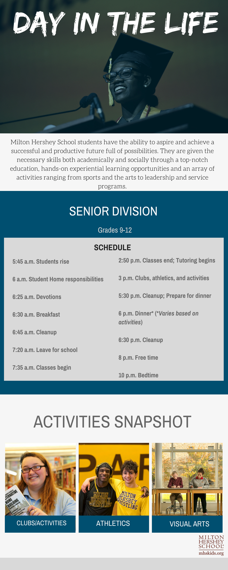 A Day In The Life: Senior Division