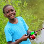 MHS elementary students learn to fish