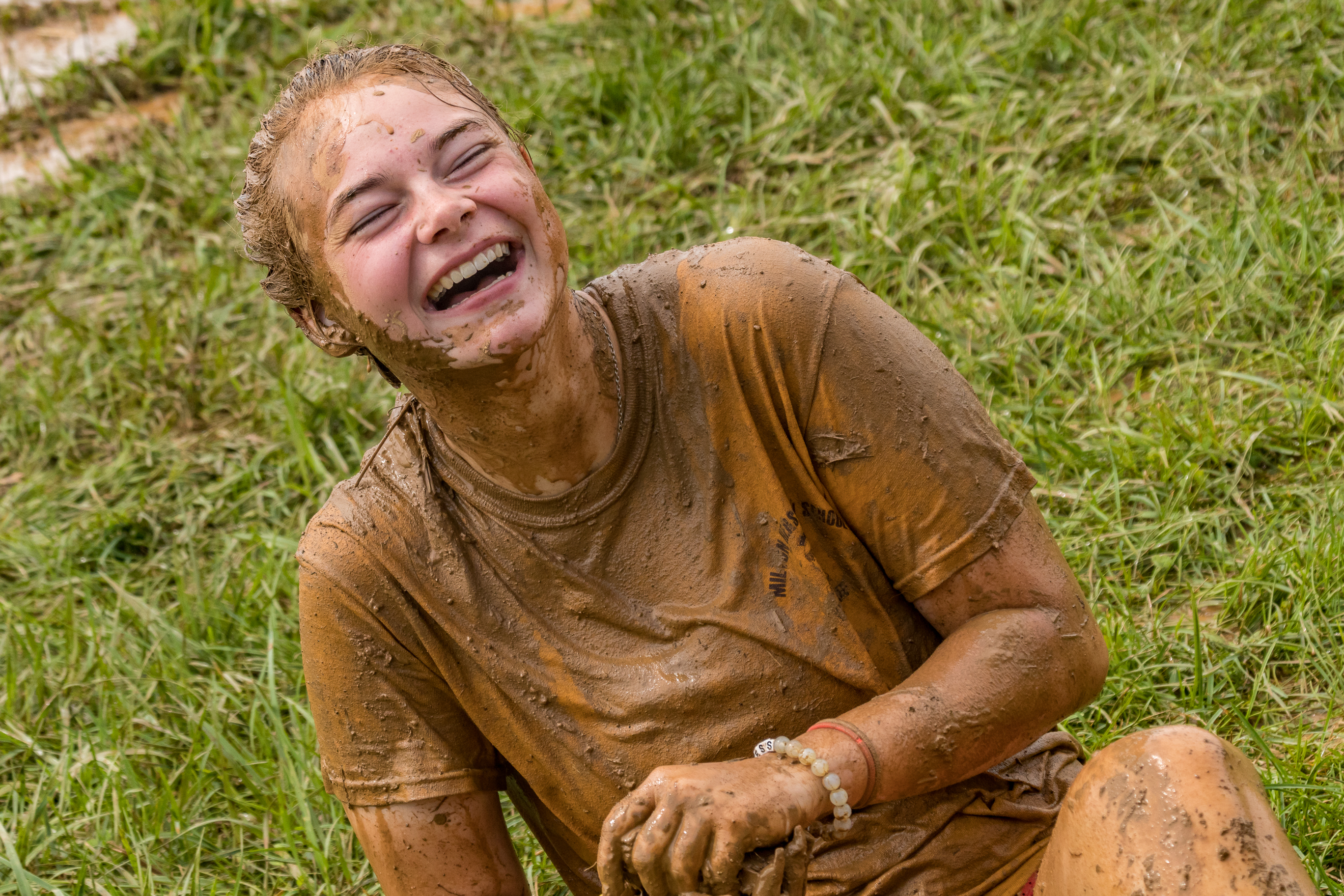 YRE students participated in mud run