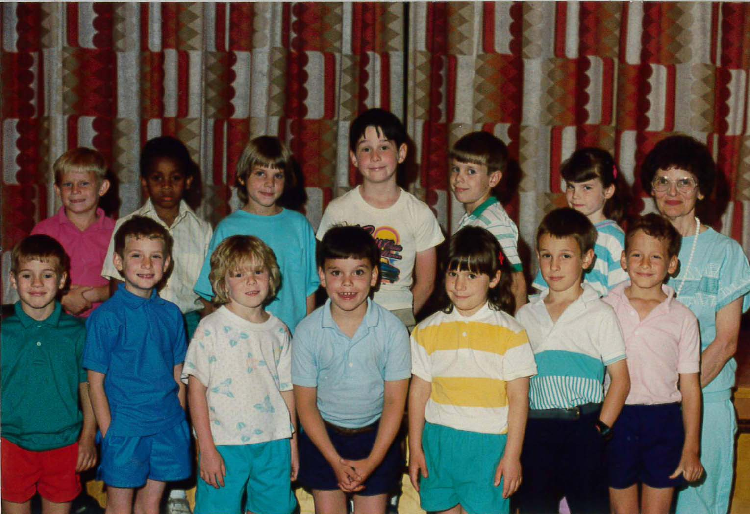 First-graders during the 1980s