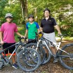 Two MHS students earned cycling merit badges