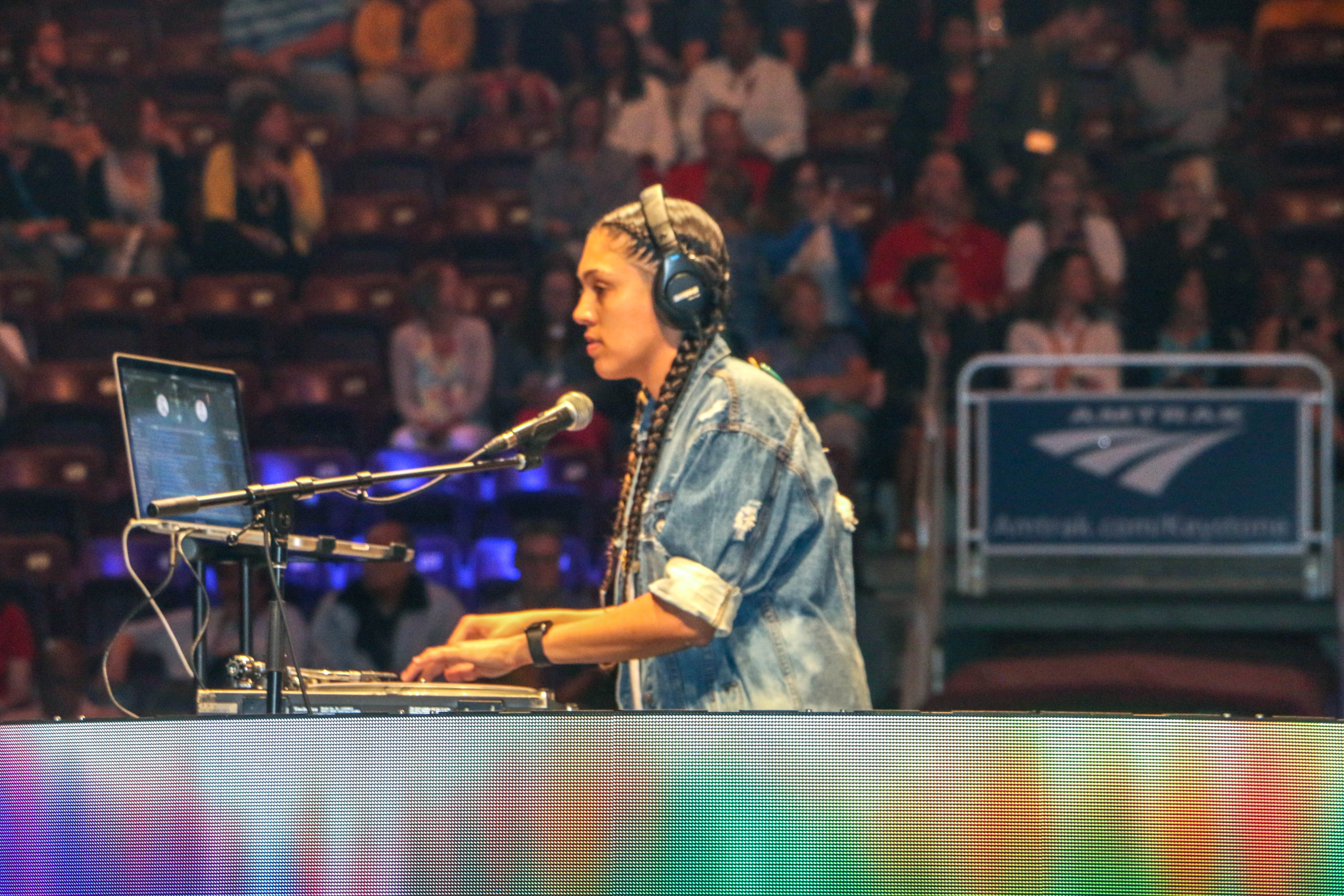 Tiffany Gonzalez '05 is a professional DJ