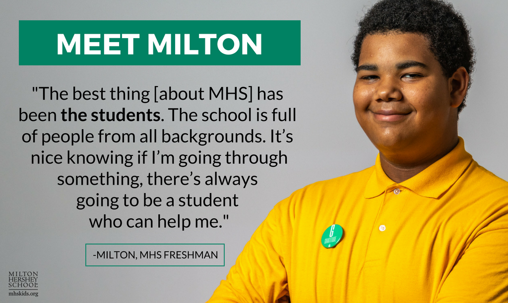 Milton, an MHS freshman