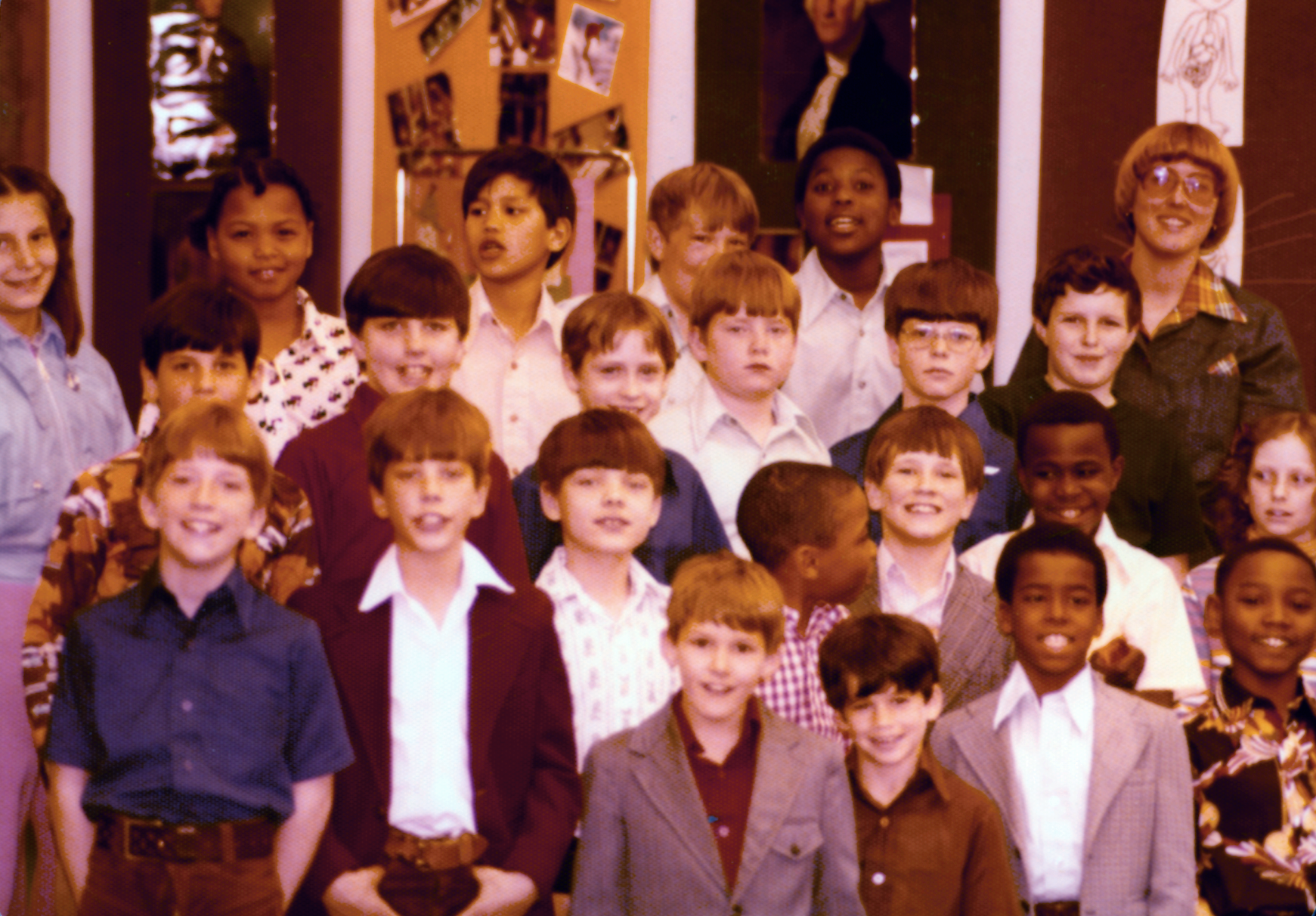 Fifth-graders during the 1970s