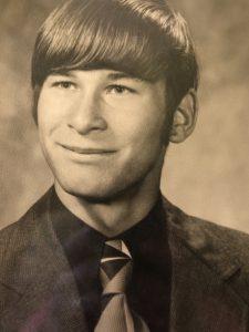 Larry's yearbook photo