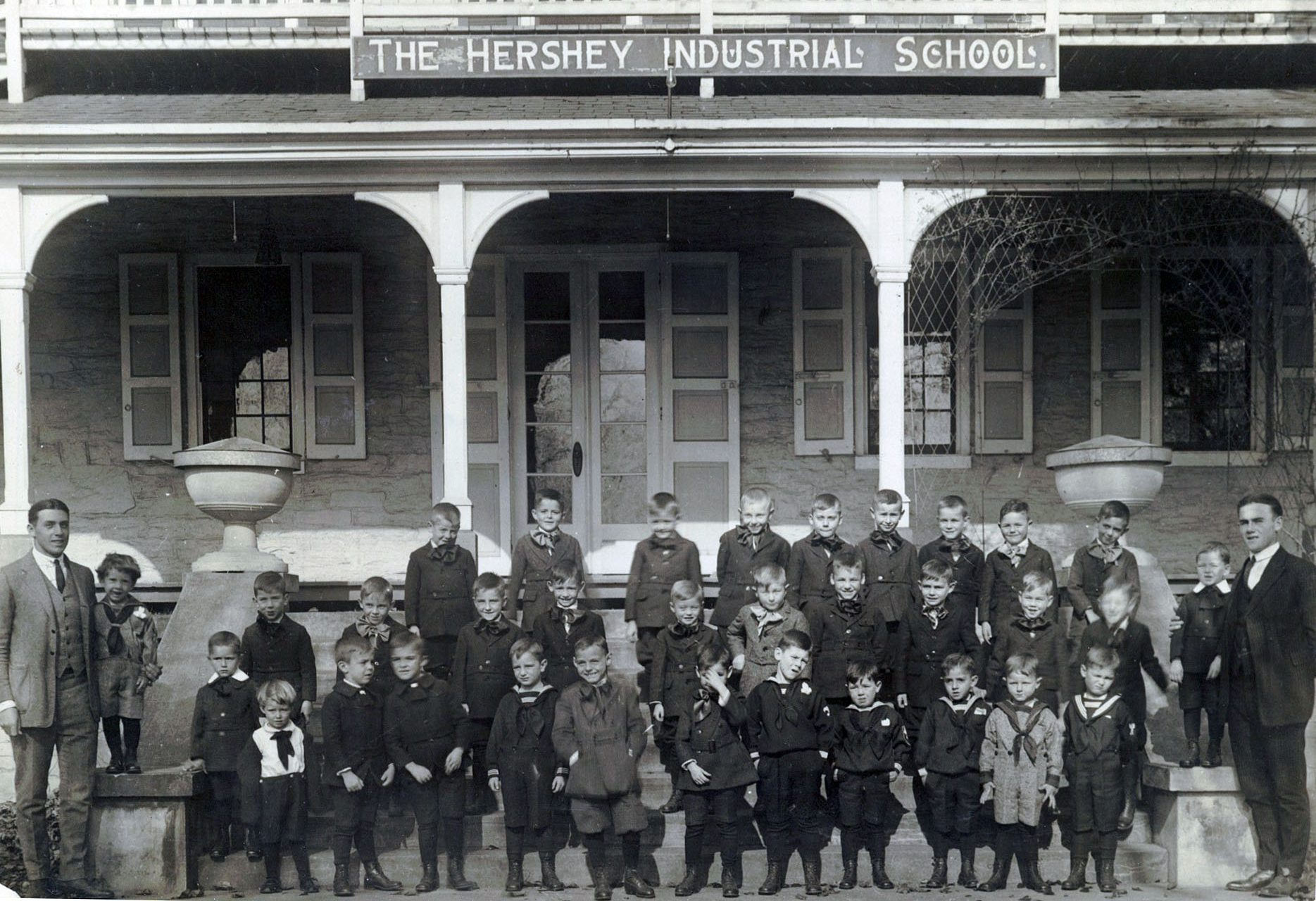 Hershey Industrial School in 1923