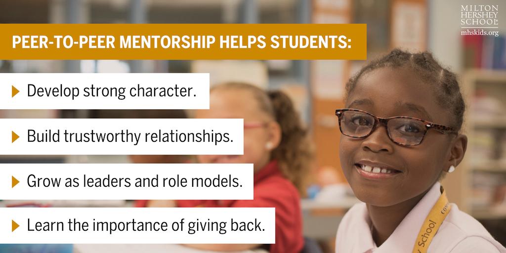 Peer-to-peer mentorship at MHS