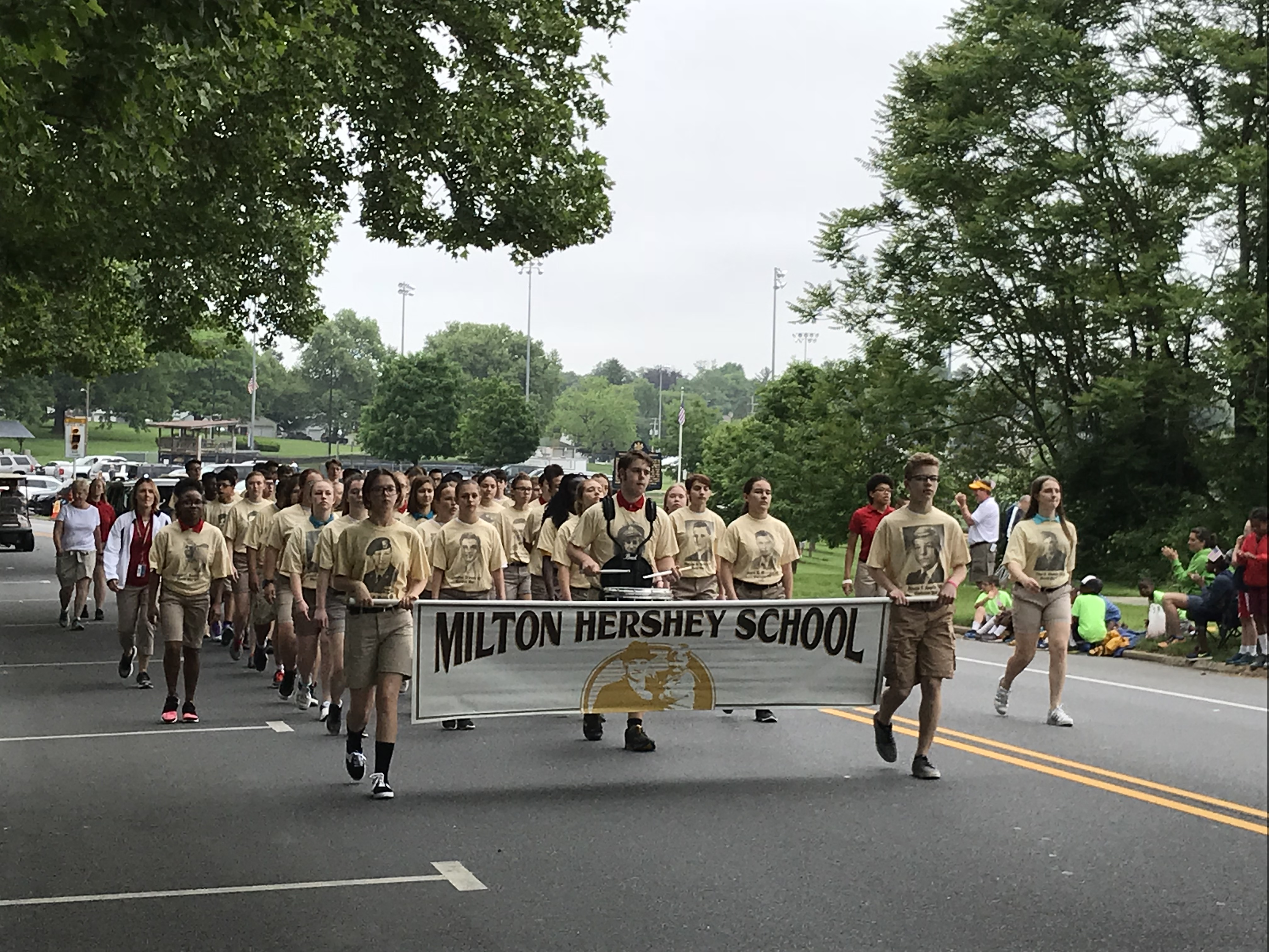 Hershey Memorial Day parade