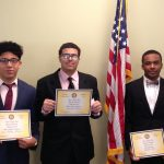 MHS students competed in mid-level round of Rotary Four-Way Speech Contest