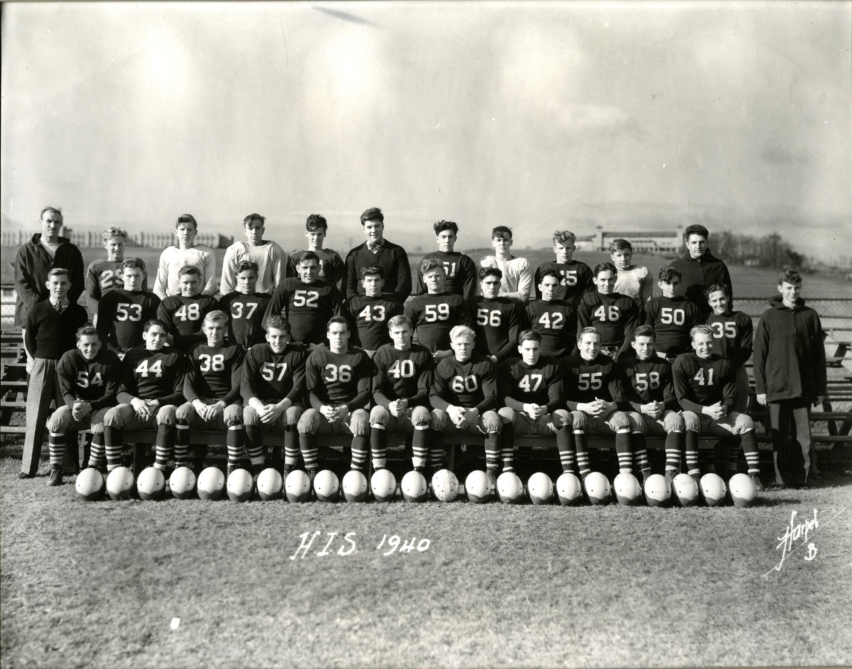 Gene Lowe played on the MHS football team