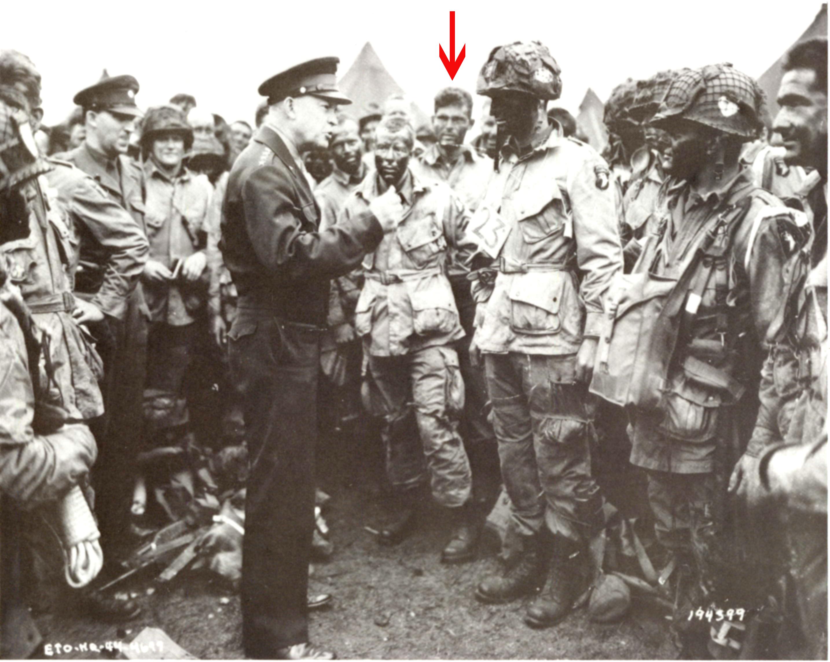 General Eisenhower and Lowe