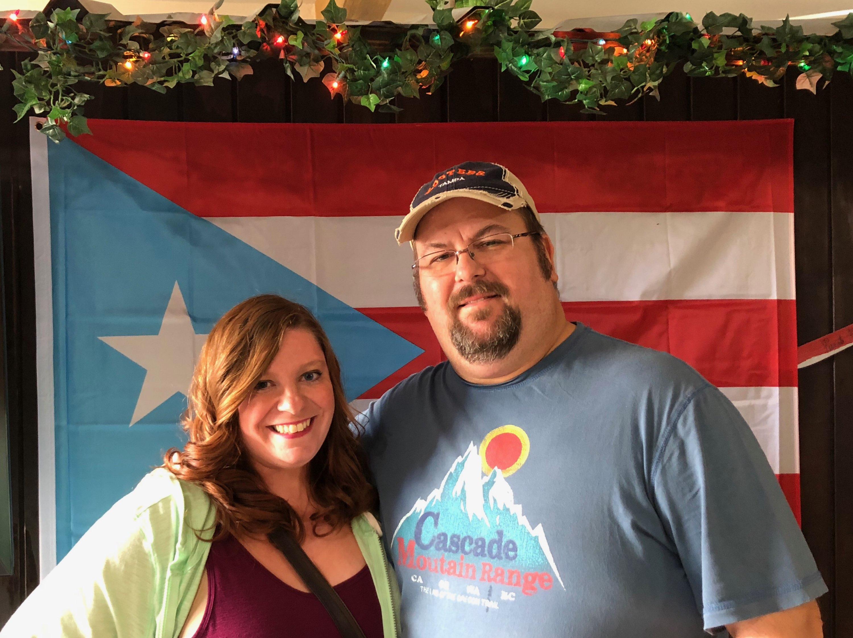 Kimberly and her brother, Edgardo