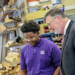Secretary of Labor and Industry visits MHS
