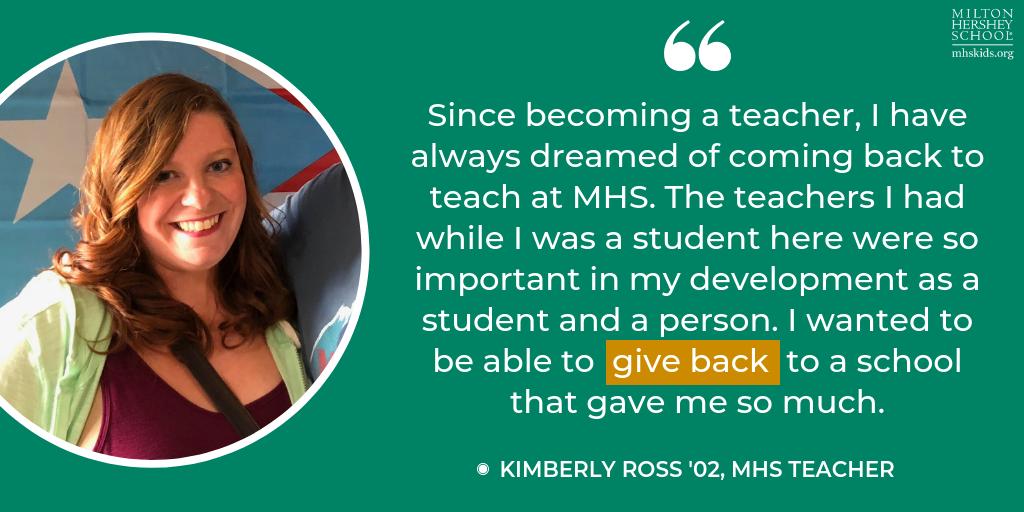 Kimberly Ross, MHS teacher