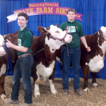 MHS high school students at PA farm show