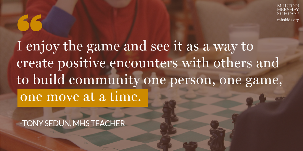 Teacher's quote about the game of chess
