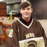 Thomas, an eighth grader, became involved in athletics at MHS