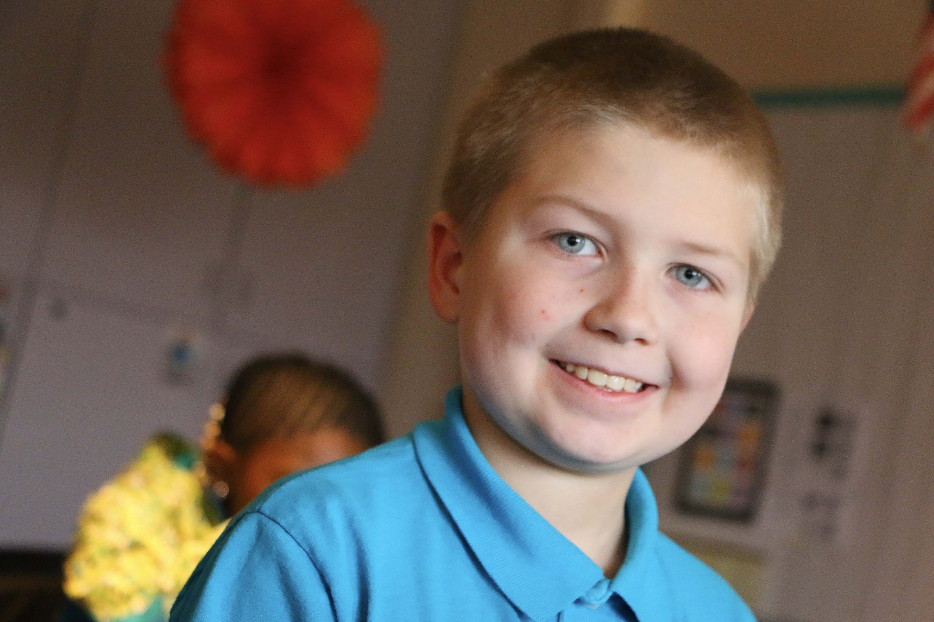 Andrew, an MHS elementary student