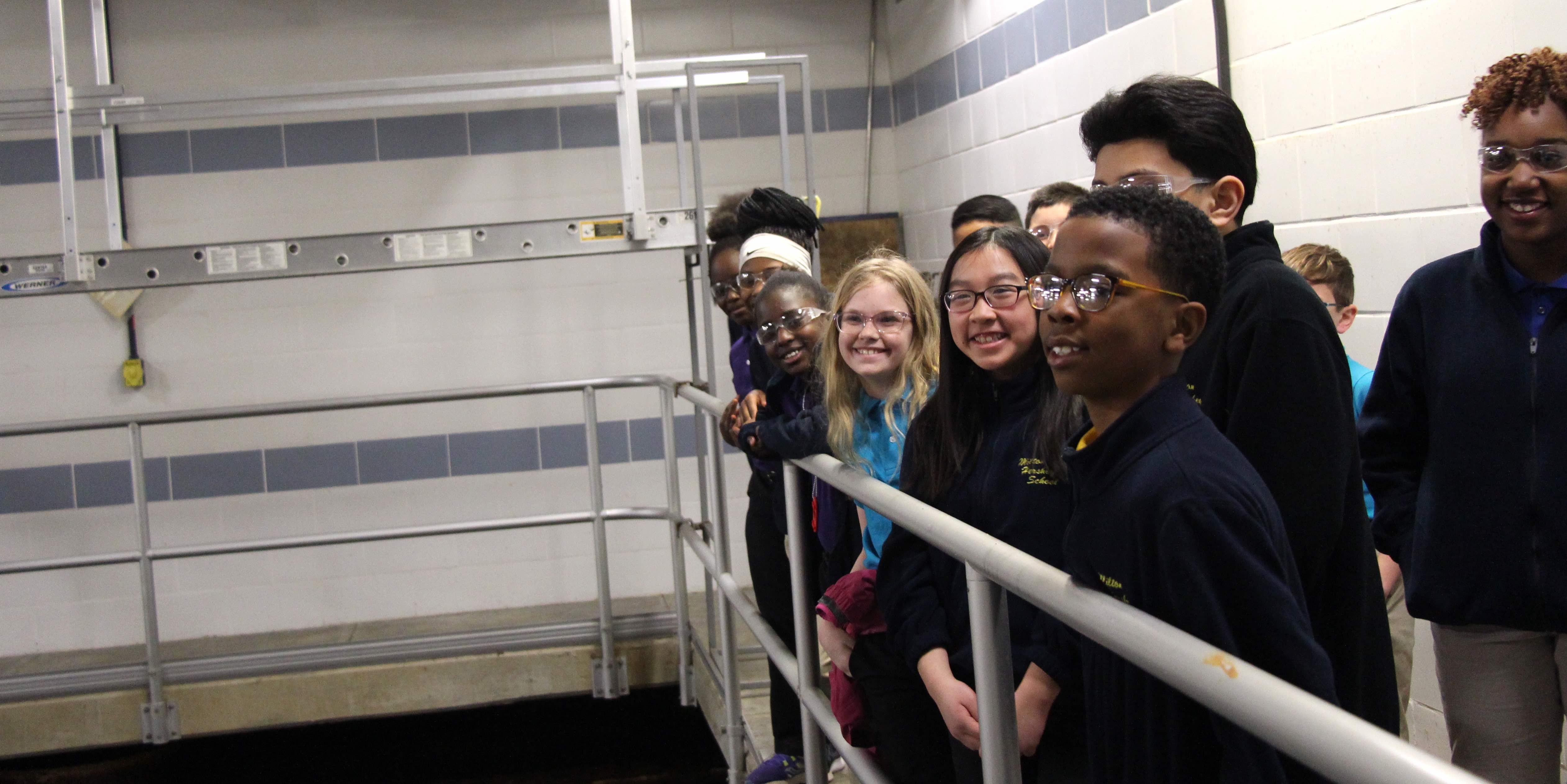 MHS students learned about the Chesapeake Bay watershed