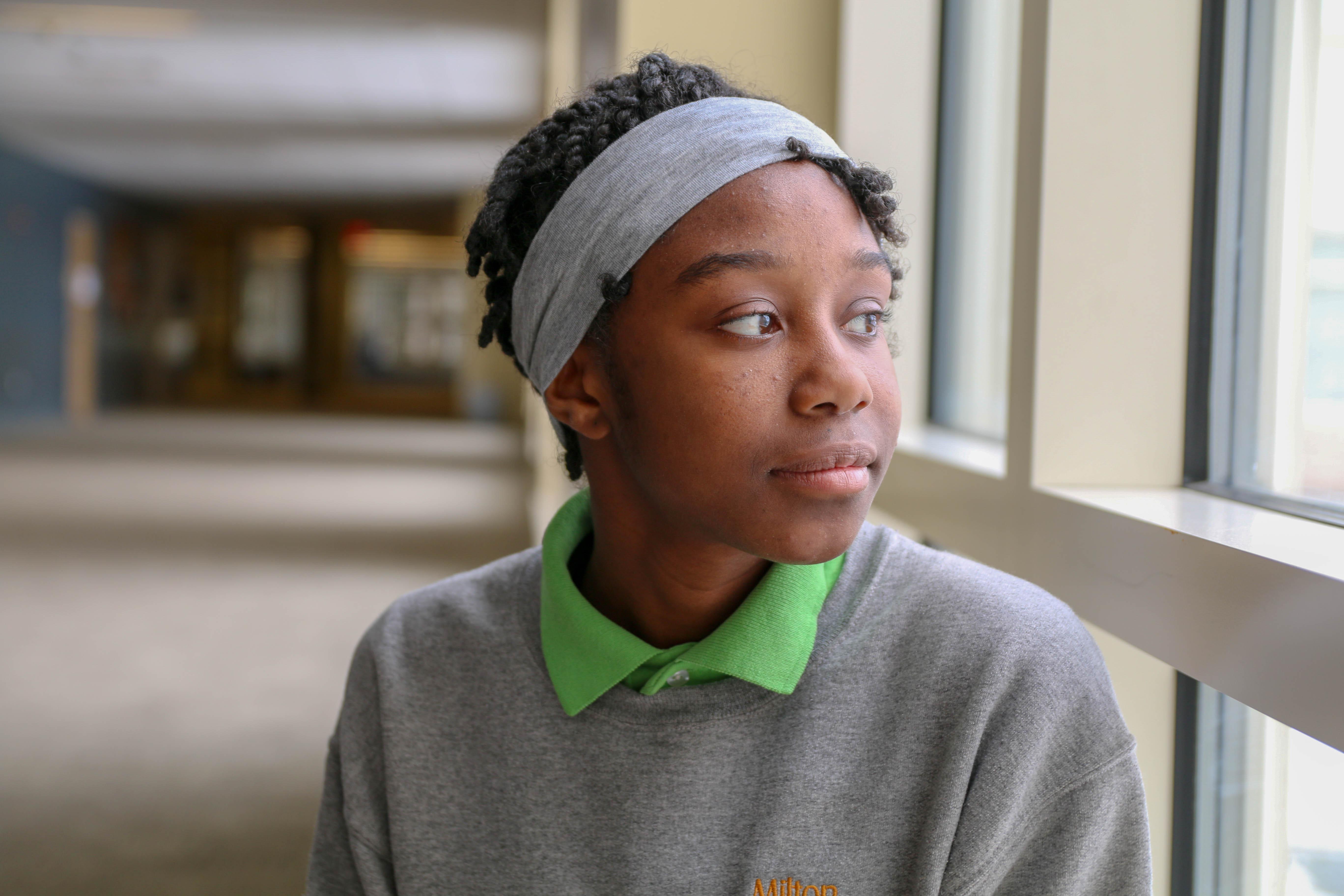 Dominique, MHS sophomore