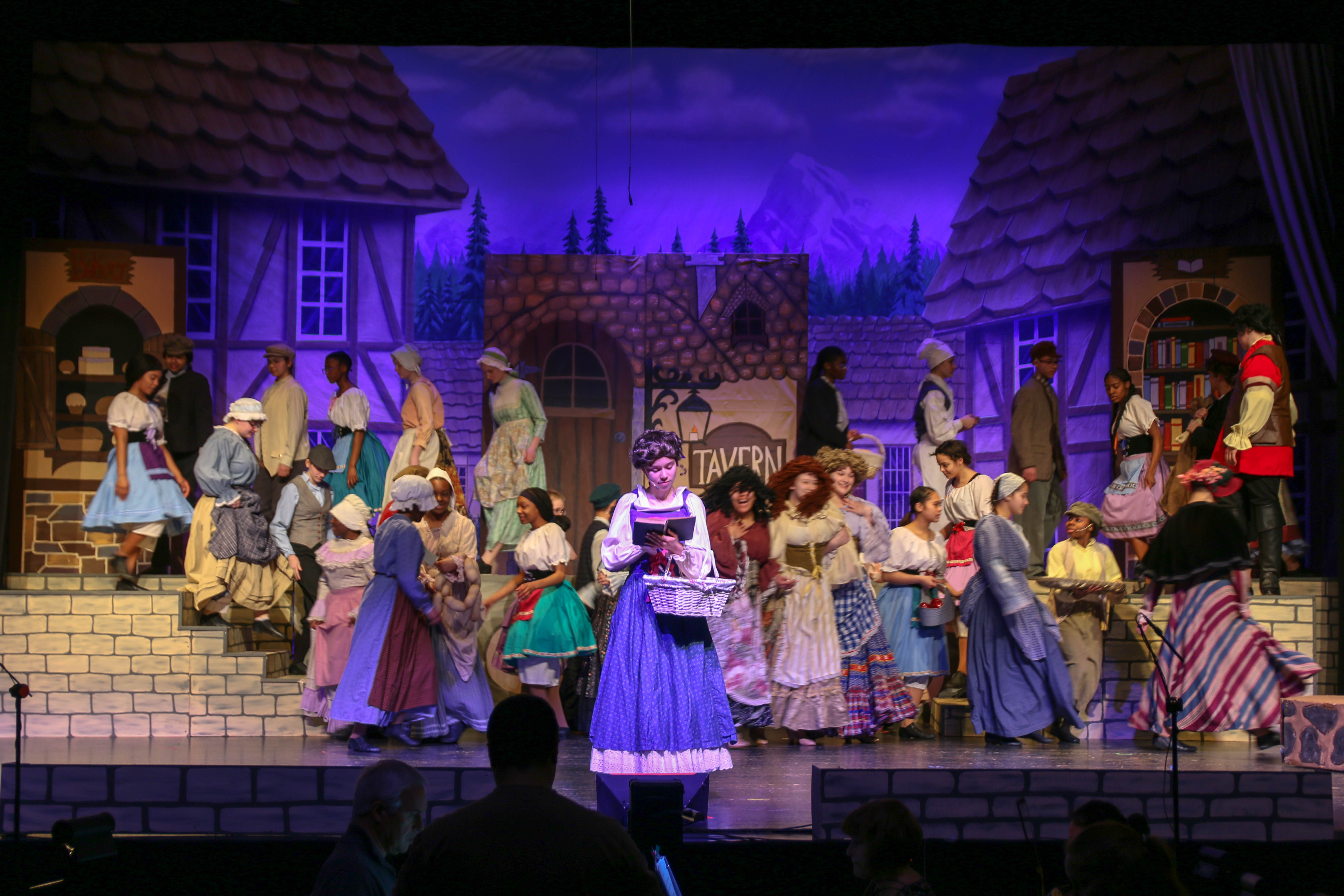 Beauty and the Beast during Winter Family Weekend