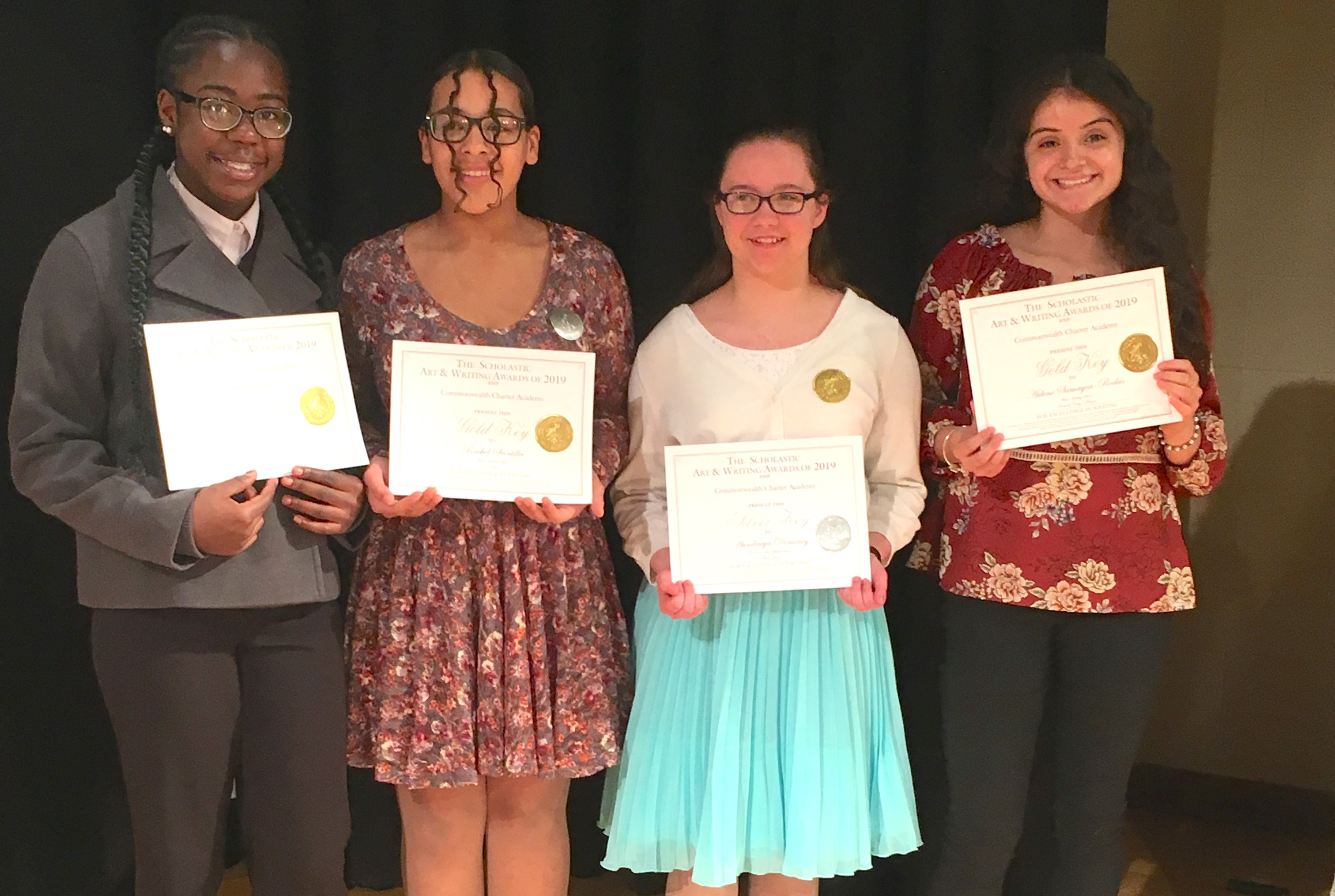 MHS students at Scholastic Art and Writing Awards
