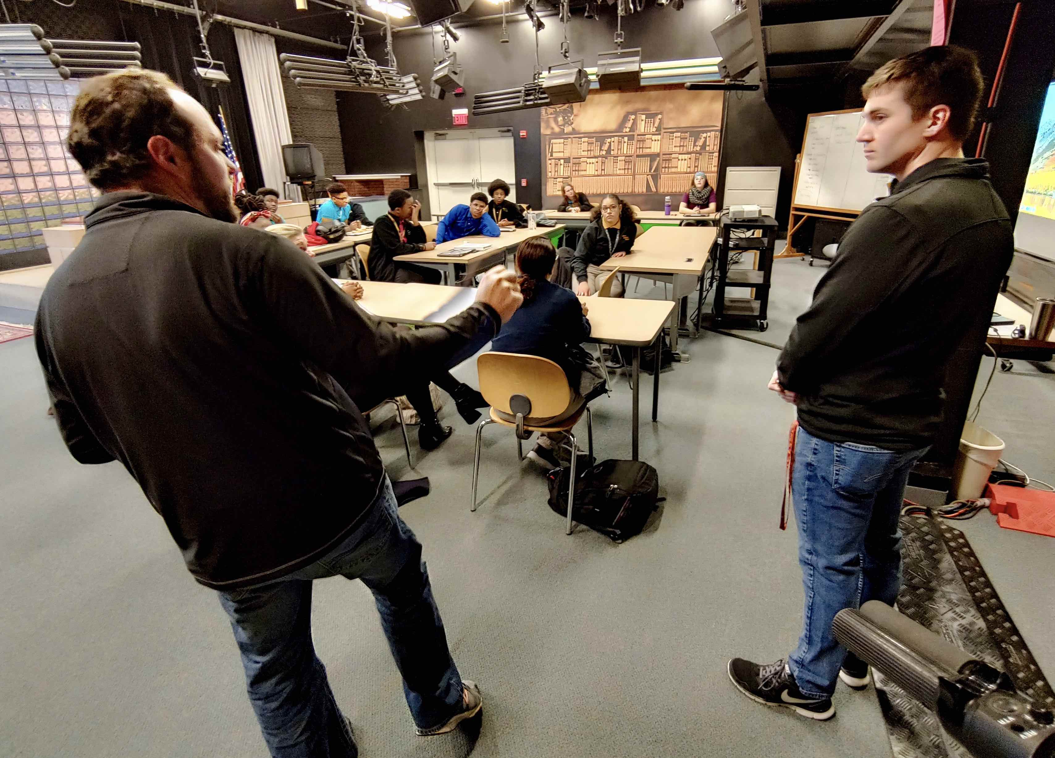 MHS students gain experience in videography from local professionals