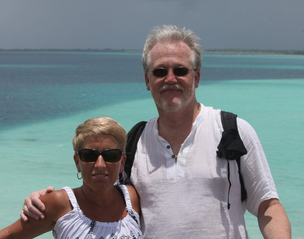 William Harding '78 and his wife on vacation