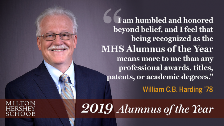 William Harding '78 remarks on being named 2019 Alumnus of the Year
