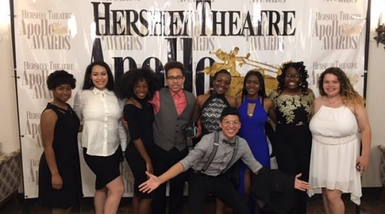 MHS students attend the 2019 Apollo Awards at Hershey Theatre.
