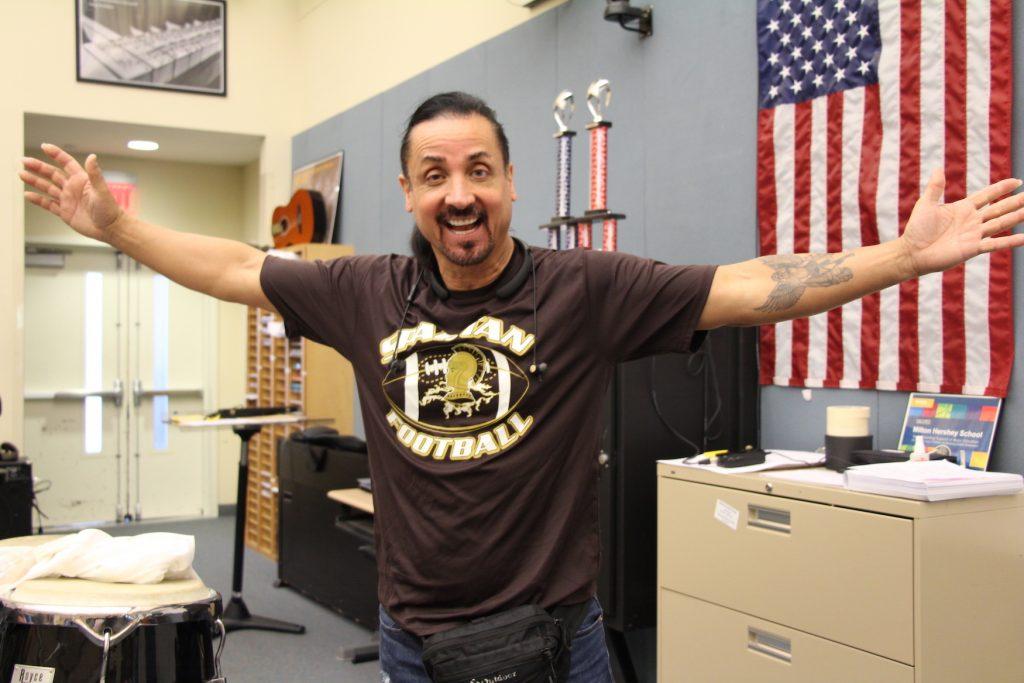 Zac Brown Band drummer, Daniel de los Reyes shares his Spartan pride.