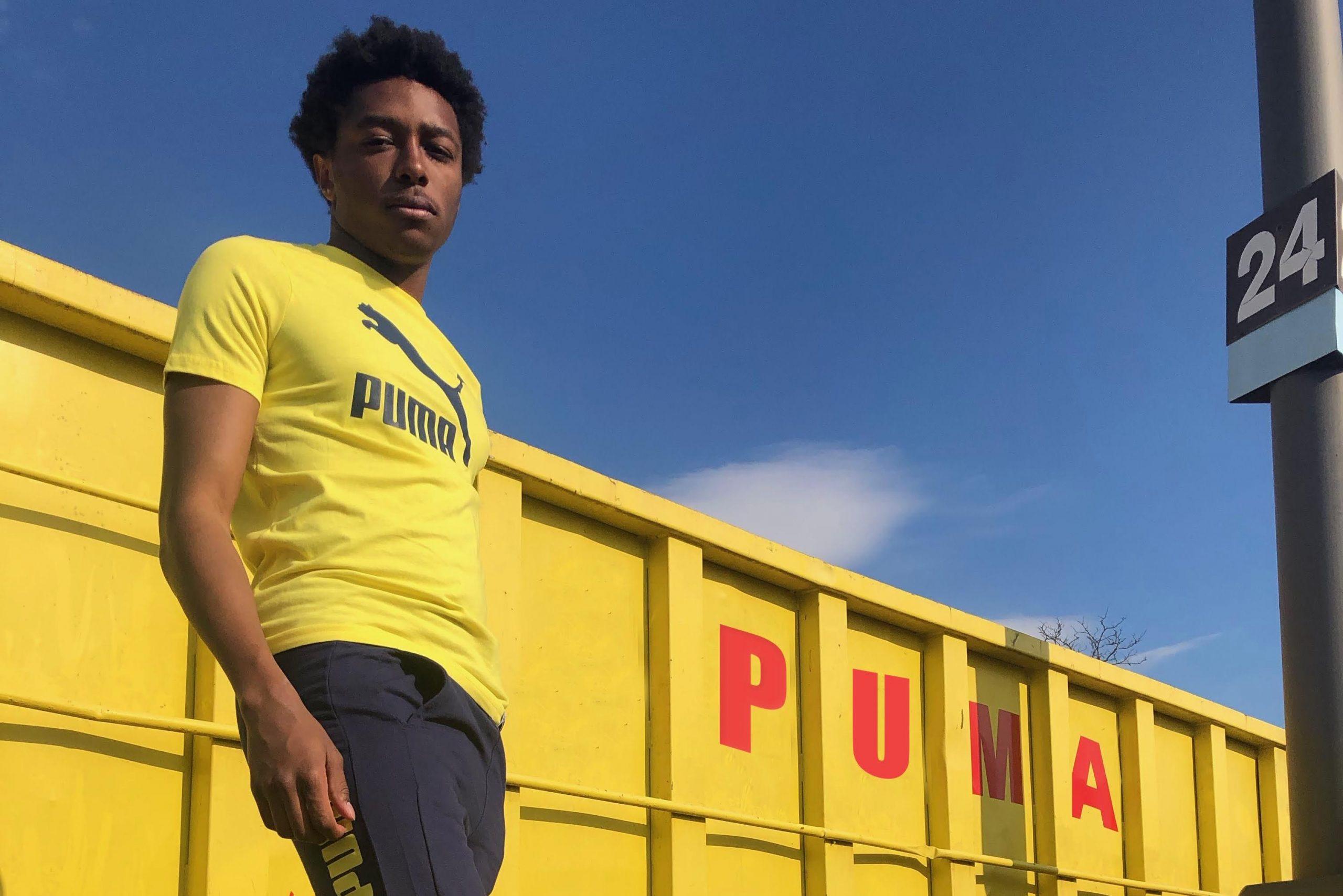 Malcolm Jones '18 serves as a social media influencer for brands like Puma.