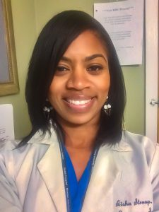 Milton Hershey School alumna Aisha Stroop '94 works as an emergency medicine physician.