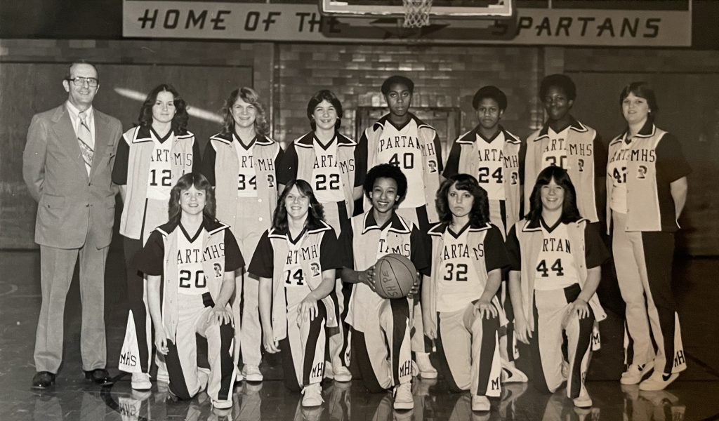 Milton Hershey School Girls Basketball Team in 1981