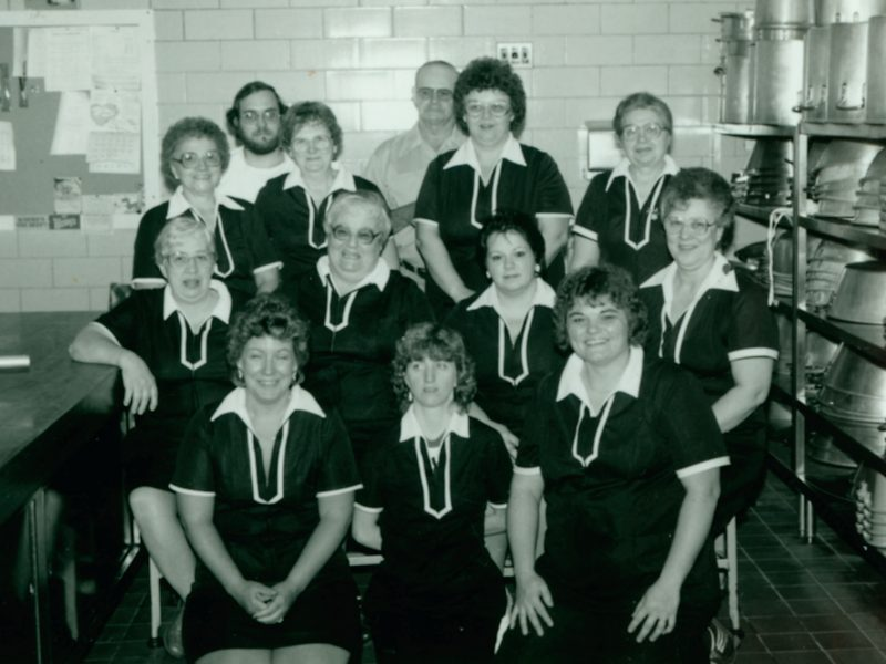 Food Services Staff in 1986