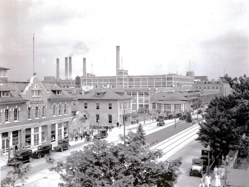 The Hershey Community in early 1920s