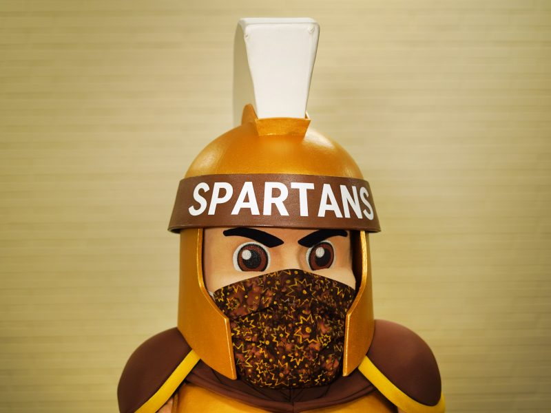 Sparty with Mask