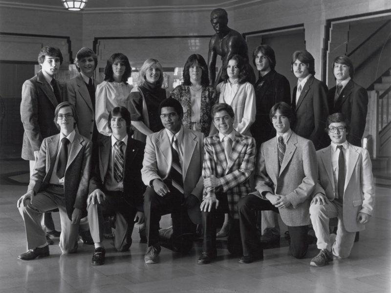 MHS National Honor Society in 1980-81