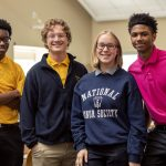At Milton Hershey School, Senior Division students are in ninth- through 12th-grade.